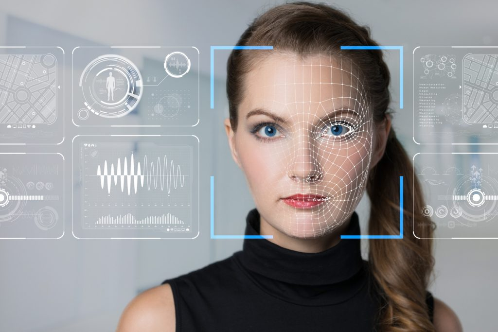 Biometrische camerabeveiliging